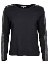 Bliss Genser 7235924_CAB-MARIEPHILIPPE-W18-front_Bliss Genser CAB_Bliss Sweater.jpg_Front||Front