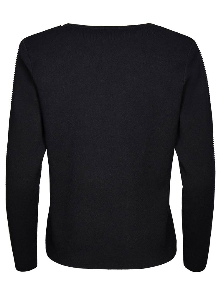 Bliss Genser 7235924_CAB-MARIEPHILIPPE-W18-back_Bliss Genser CAB_Bliss Sweater.jpg_Back||Back
