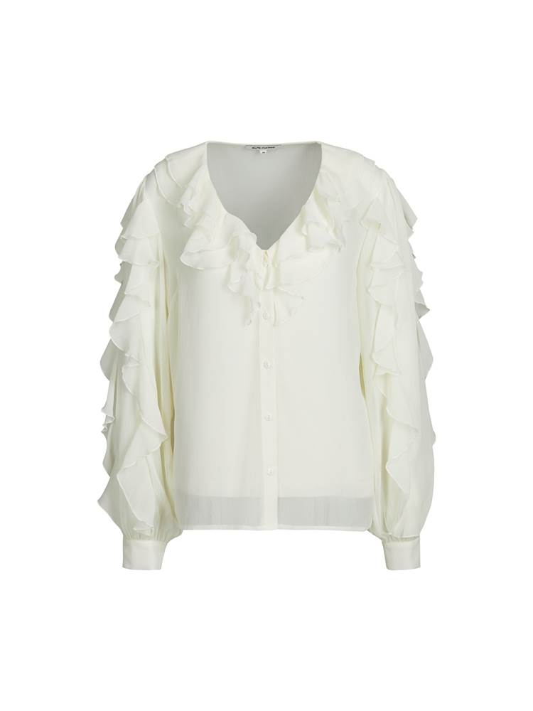 Lavina Bluse 7243606_O79-MARIEPHILIPPE-W19-front_11637_Lavina Bluse O79.jpg_Front||Front
