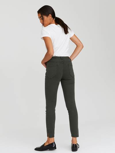 Sabine Cropped Color Jeans GOY