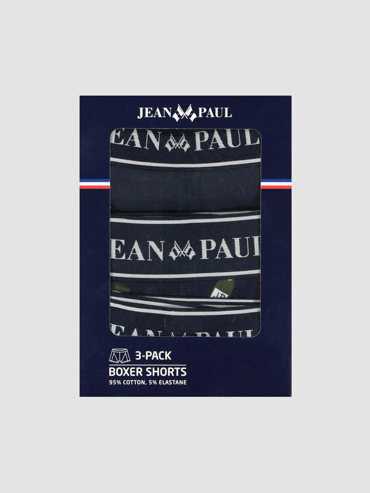 The Holiday 3- pack Boxer 7245326_GQB-JEANPAUL-W20-front_97714_The Holiday Pack_The Holiday 3- pack Boxer GQB.jpg_Front||Front