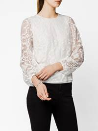 Asta Bluse 7242046_O79-DONNA-S20-Modell-front_Asta Bluse O79.jpg_Front||Front