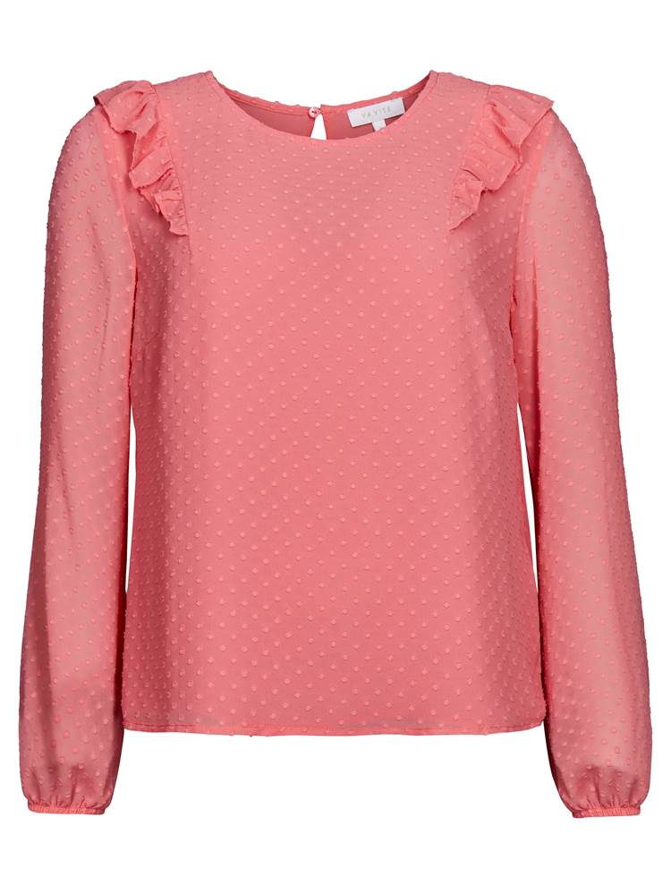 Melina Bluse 7237006_MOB-VAVITE-S19-front_18835_Melina Bluse MOB.jpg_Front||Front